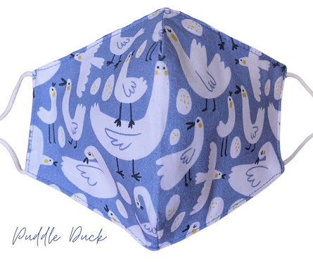 Puddle Duck Face Mask Free Post UK