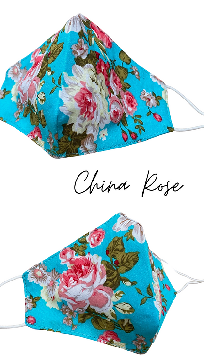 China Rose Adult Face Mask Made In Uk Free Postage