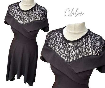 Chloe Lace Top Dress