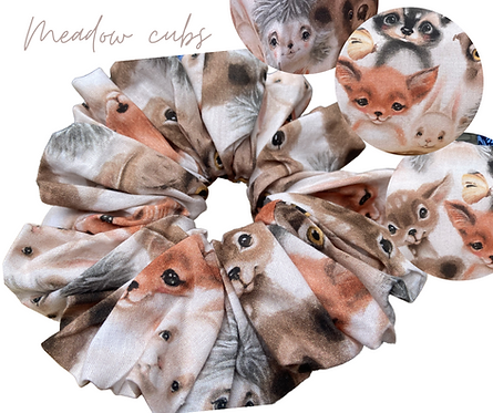 Meadow Cubs Luxury Scrunchie  UK Free Post