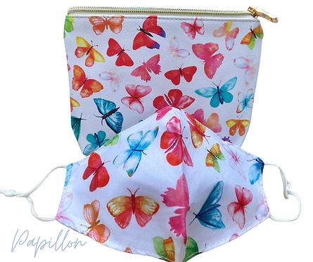 Papillon Face Mask Travel Set