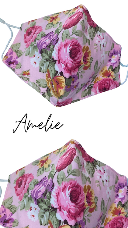 Amelie Adult Face Mask  Free Post UK