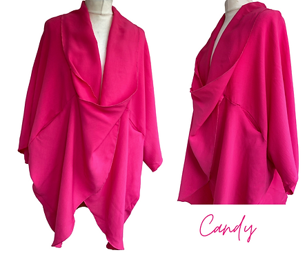 Candy Plus Size Floaty Top