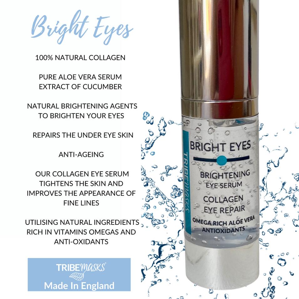Bright eyes collagen anti ageing eye ser
