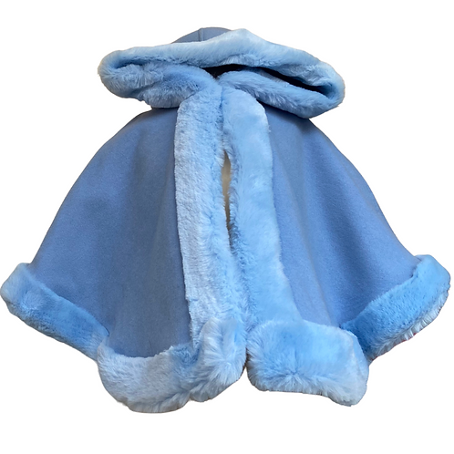 Juliette Children's Faux Fur Cape 2/4 Years