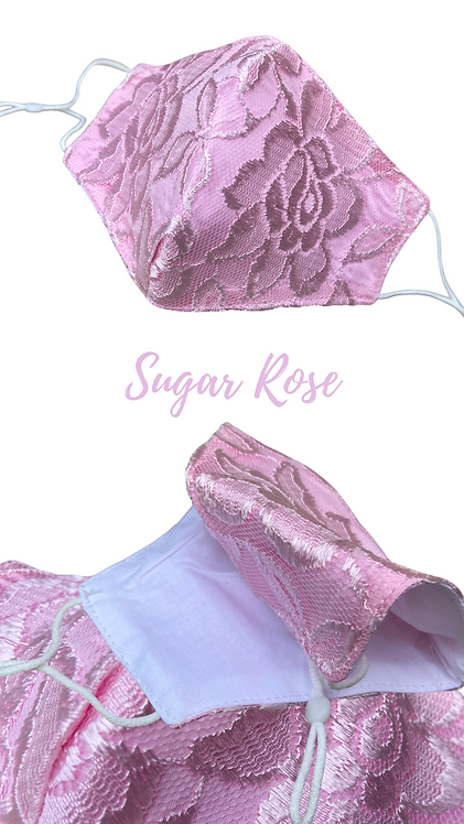Sugar Rose Adult Face Mask Made In Uk Free Postage