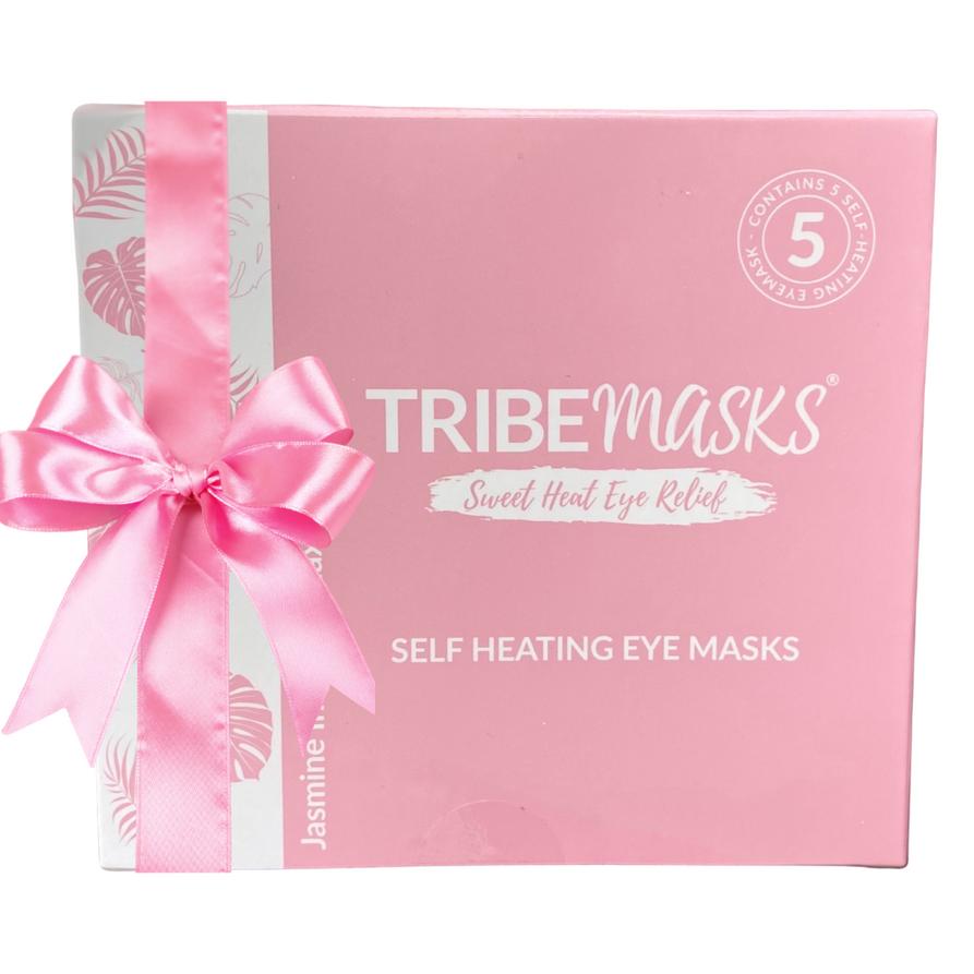 Tribemasks self-heating Jasmine eye mask