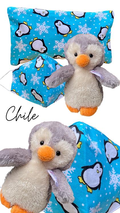 Chile & Penguin Face Mask Retreat Set