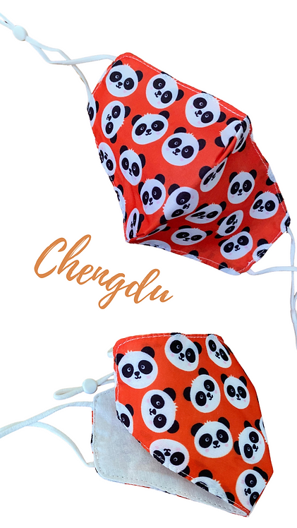 Chengdu Children's Fabric Face Mask Free Post