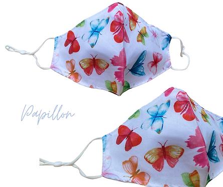 Papillon Face Mask  Free Post UK