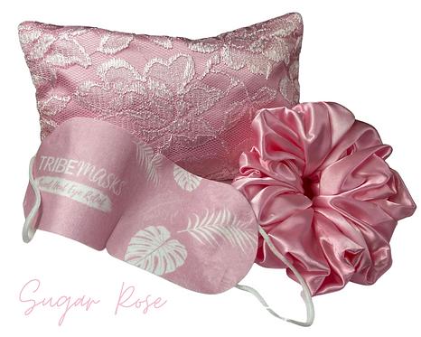 Sugar Rose Sleep Retreat Set Free Face mask Worth £8.99