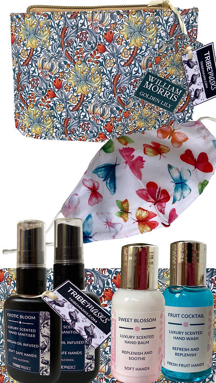 Tribemasks Luxury Travel Set Lily