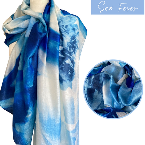Sea fever Luxury Silk Scarf