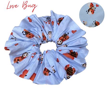 Love Bug Luxury Scrunchie  UK Free Post