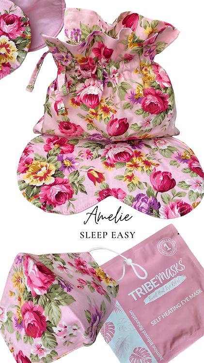 Amelie Sleep Easy Eye Mask  Retreat Set