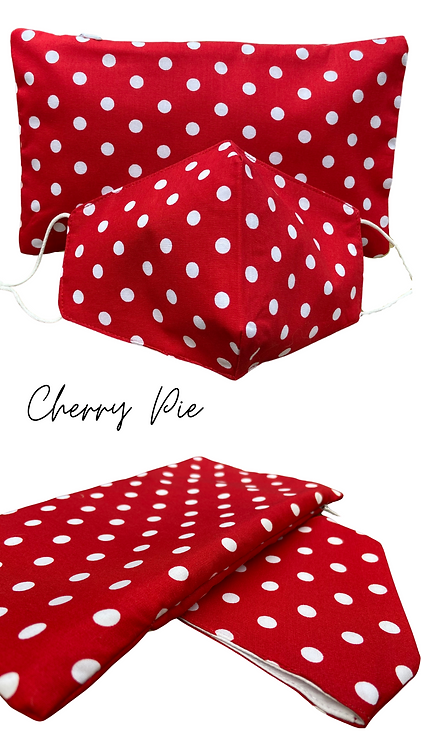 Cherry Pie Face Mask Retreat Set