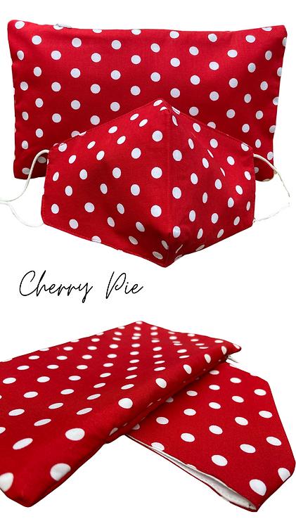 Cherry Pie Face Mask Retreat Set