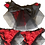 Thumbnail: Red Big Bow Burlesque Knickers S/M