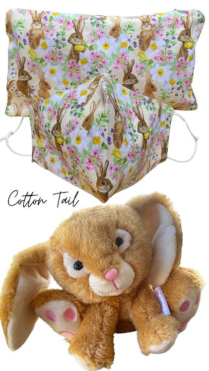 Cotton Tail & Bunny Face Mask Retreat Set