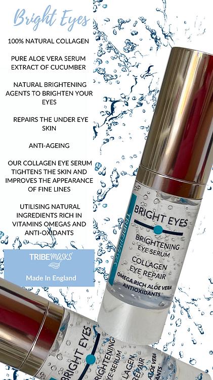 Bright Eyes 100% Natural Collagen Brightening Eye Serum