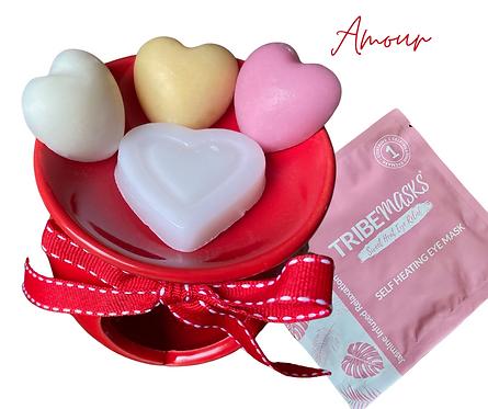 Amour Wax Melts Oil Burner Relax Retreat Gift Set