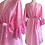 Thumbnail: Amelie Satin Dressing Gown/Robe