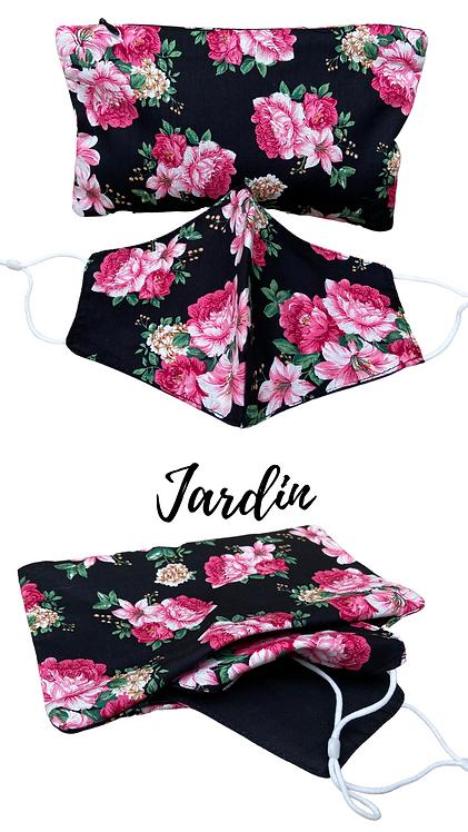 Jardin Adult Face Mask Travel set
