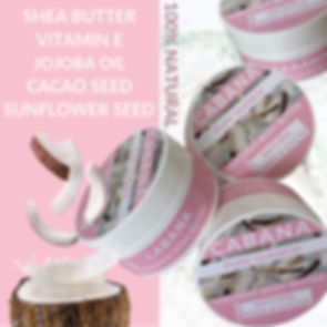 LUXURY 100% COCONUT BODY BUTTER