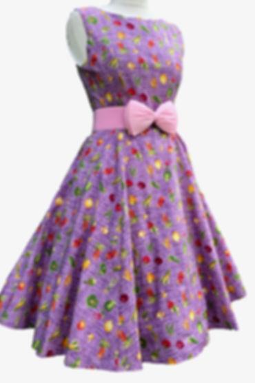 Bow belts/retro dress
