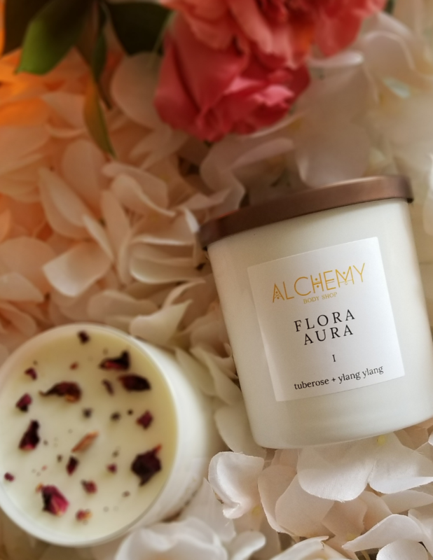 1 alchemy flora candle