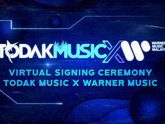 MAJLIS MENANDATANGANI PERJANJIAN DIANTARA TODAKMUSIC X WARNER MUSIC MALAYSIA