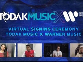 Kolaborasi Todak Music-Warner Music demi penstriman lebih baik