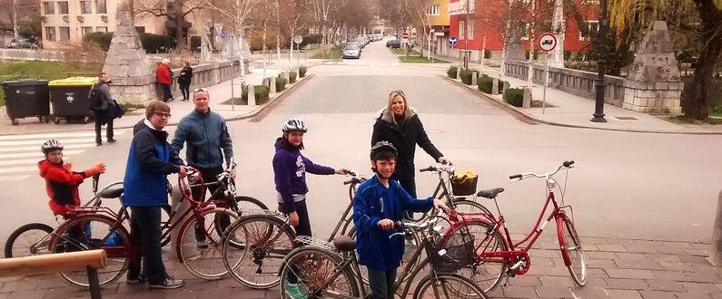Private bike tour for family in Ljubljana, Slovenia