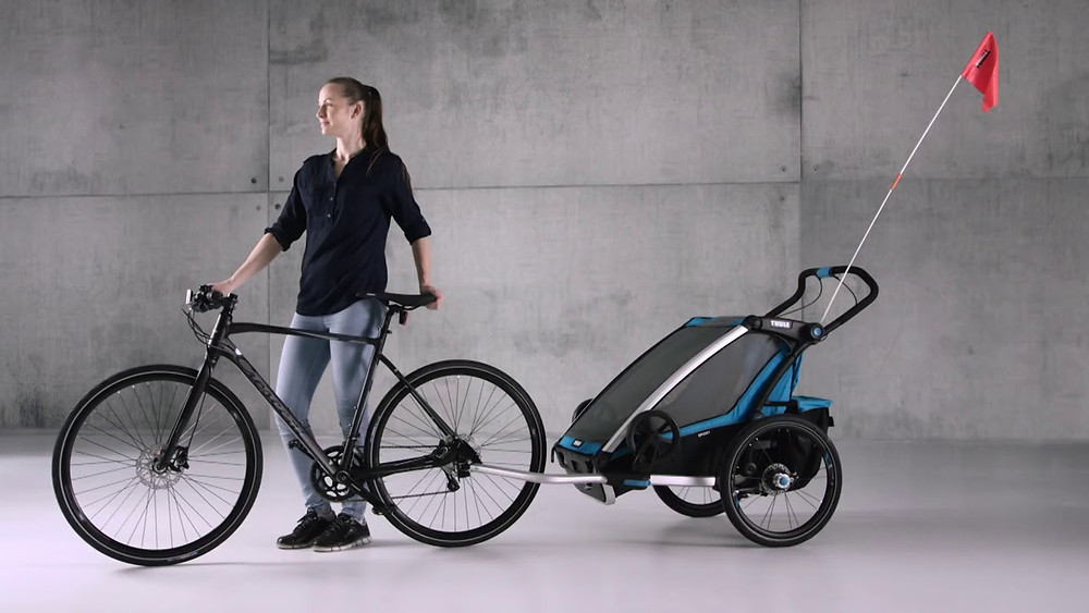 Thule bicyle trailer for kids