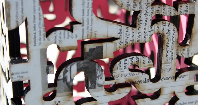 """Tameidiau Ohona'i"" (Fragments of Me - Detail)"