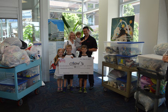 Donating to St. Louis Children's Hospital