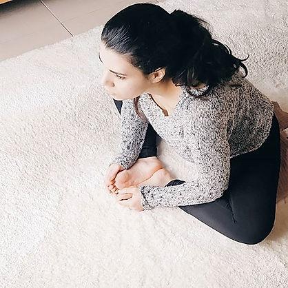 Baddha Konasana - une posture dans laque