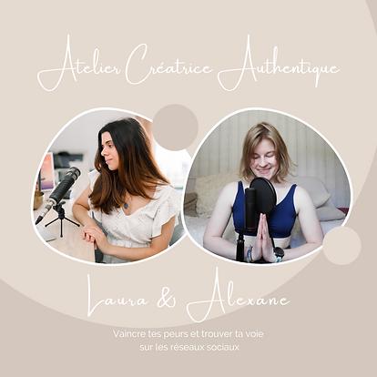 Atelier Créatricee Authentique avec Lau