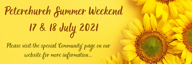 Peterchurch Summer Weekend News page on