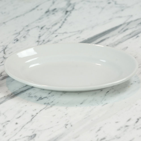 Standard White Small Platter