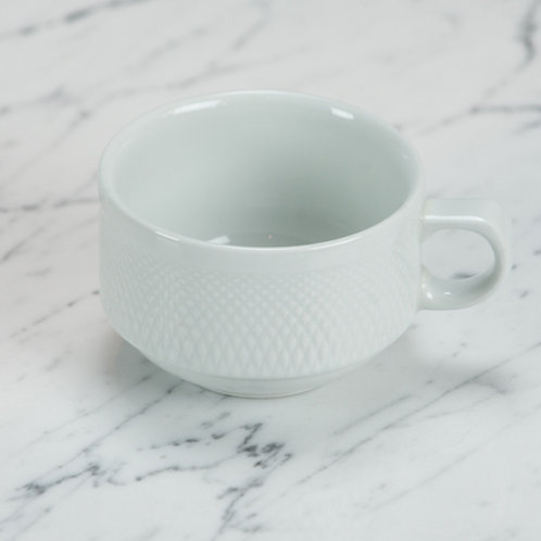 Premium Basketweave Coffee Cup