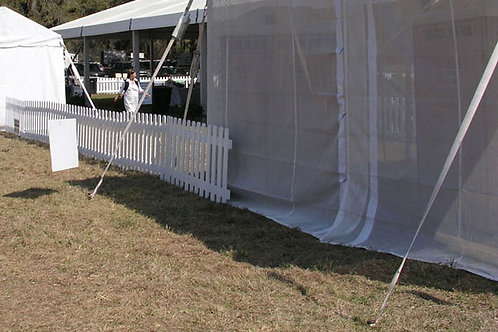 Frame Tent Staking