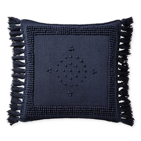 Montecito Navy Pillow