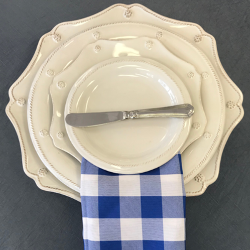 Blue & White Check Napkin