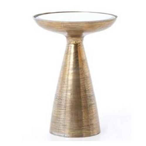 Denni Pedestal Side Table