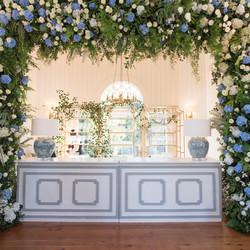 Floral Bar Surround