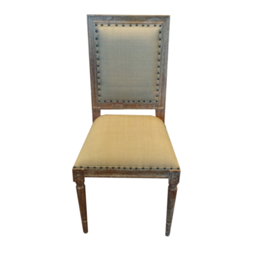 Amelia Square Back Chair