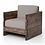 Thumbnail: Brooklyn Distressed Occasional Chair