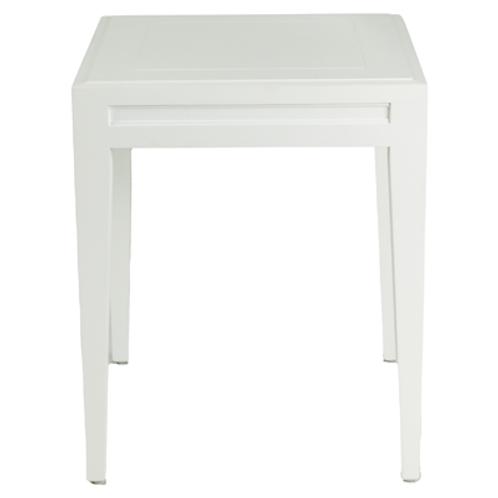 White Regency Side Table