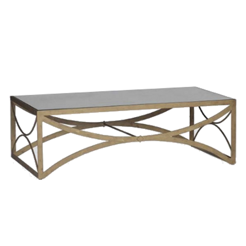 Henry Antique Mirrored Coffee Table